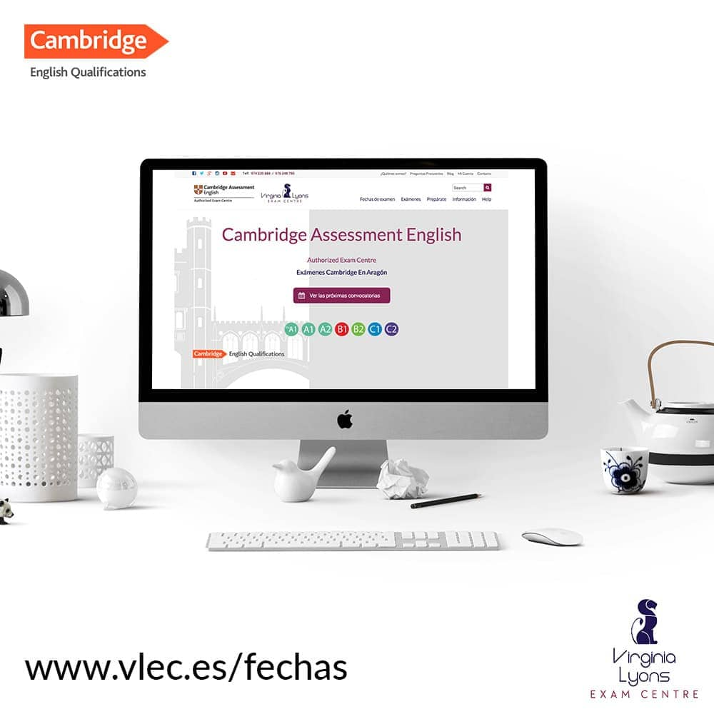 Registro online exámenes cambridge