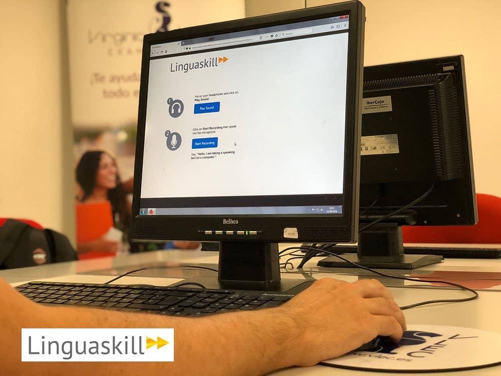 La primera sesión de Linguaskill en Aragón