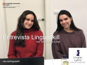 Entrevista Linguaskill Julia y Ana