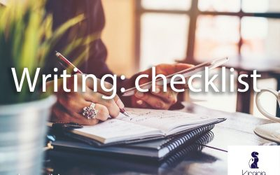 Writing: checklist
