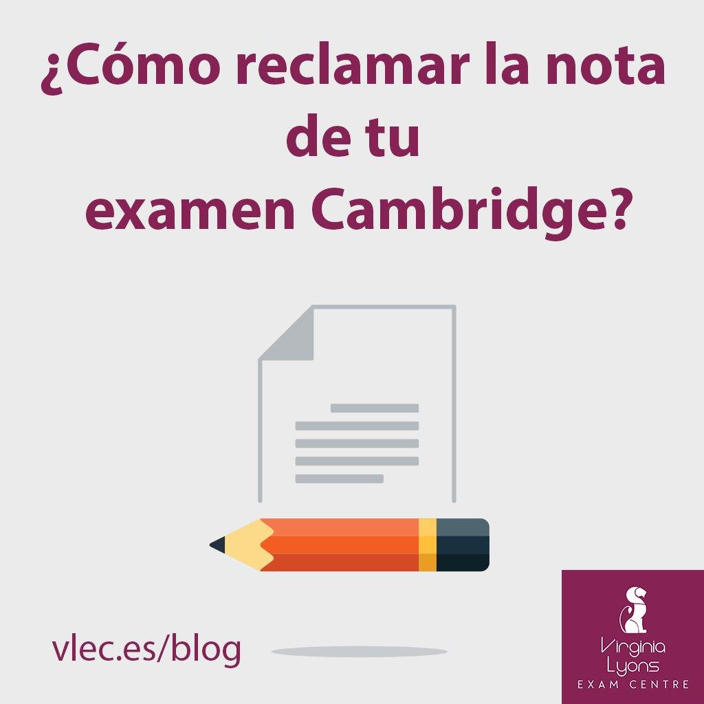 ¿Cómo reclamar la nota de tu examen Cambridge?