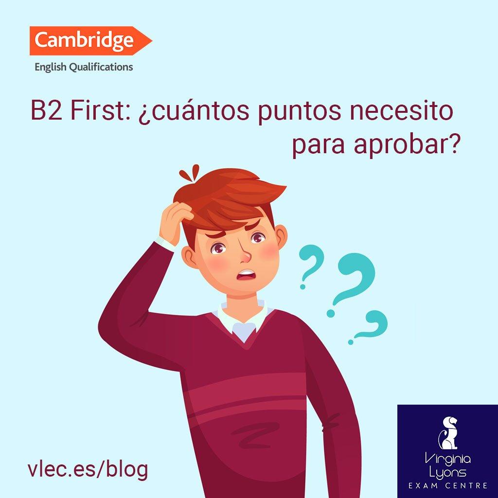 B2 First cuantos puntos necesito para aprobar